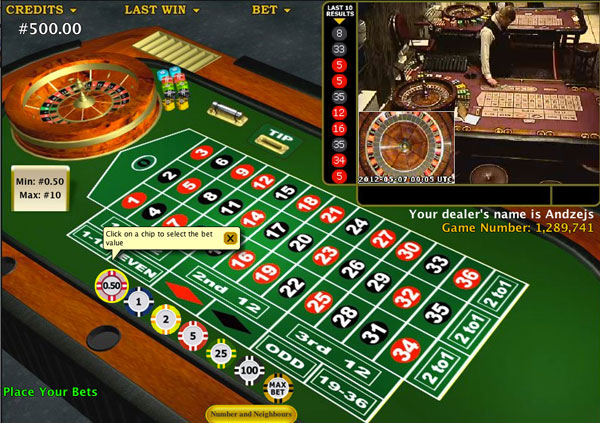 Playing online Roulette for real money